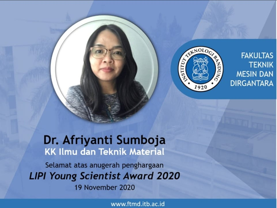 afriyanti-sumboja-the-lecturer-at-ftmd-itb-won-the-2020-lipi-young-scientist-awards