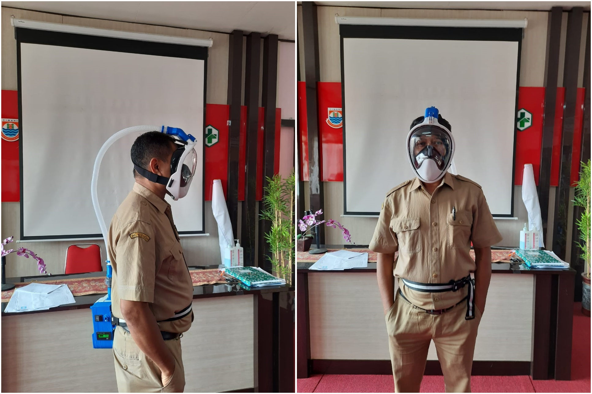 3 in 1 Face Protector, ITB's Innovation in the Midst of COVID-19