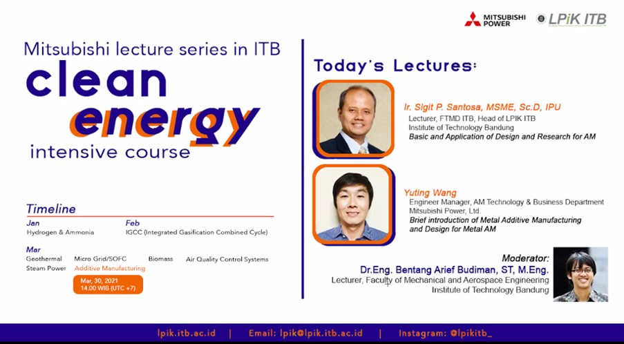mitsubishi-lpik-itb-joint-lecture-additive-manufacturing