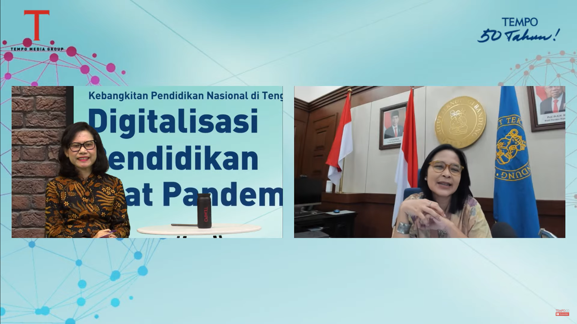 Prof. Reini: ITB to Implement Digitized Education During Covid-19 Pandemic