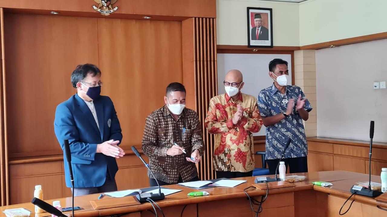 ITB and BPPT Signed the MoU for the Collaboration in Research-Based Master's Education Program (MBR) and the Partnership Doctorate Program (PDK)