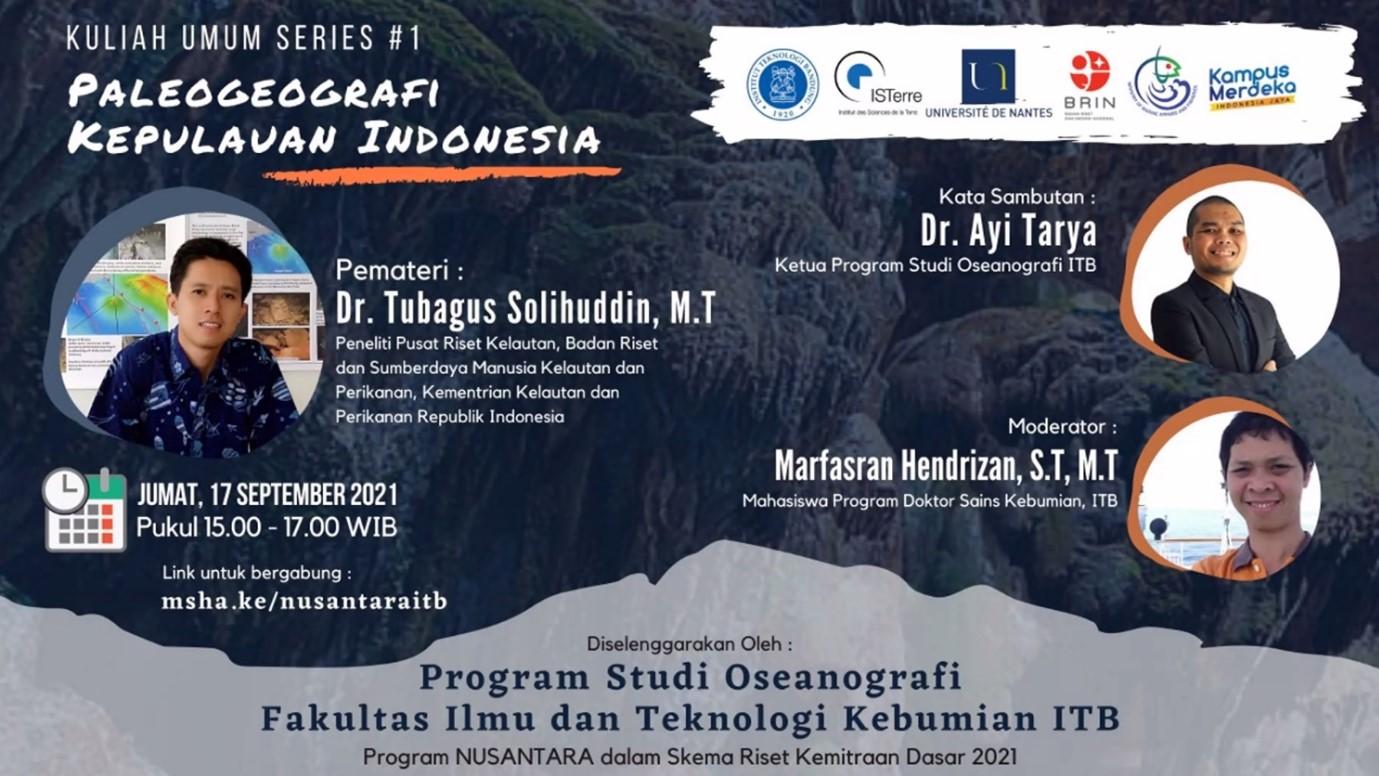 Kuliah Umum Oseanografi ITB Ungkap Paleogeografi Kepulauan Indonesia