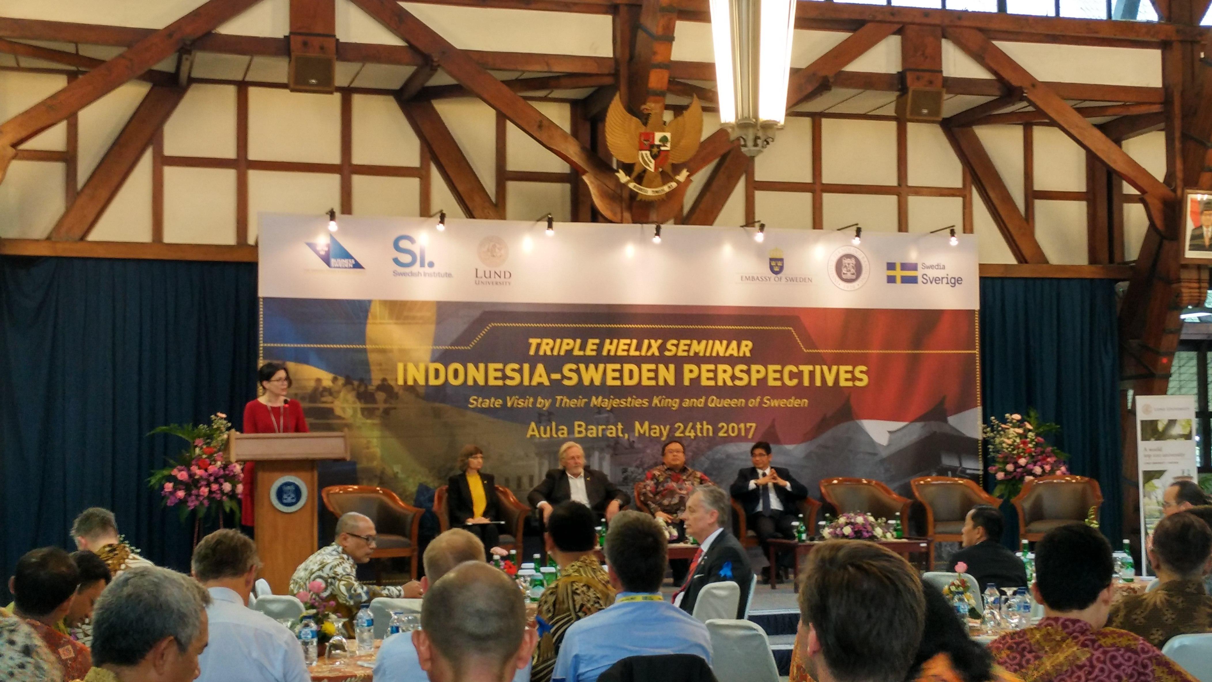 Perkuat Kerjasama Indonesia-Swedia, Raja dan Ratu Swedia Kunjungi ITB
