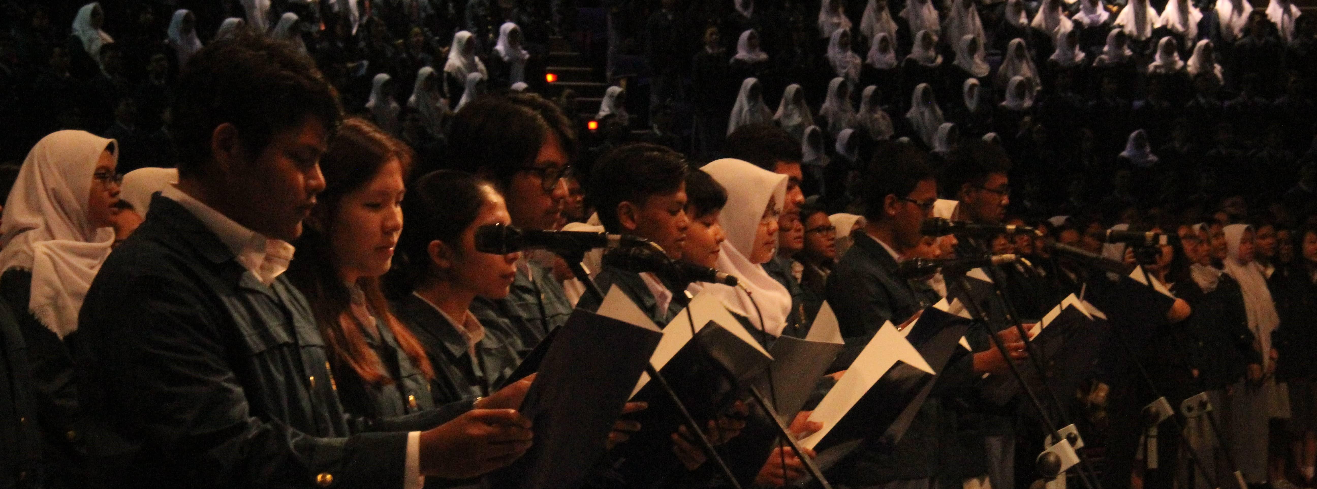 Sidang Terbuka Peresmian Penerimaan Mahasiswa Baru Tahun Ajaran 2017/2018