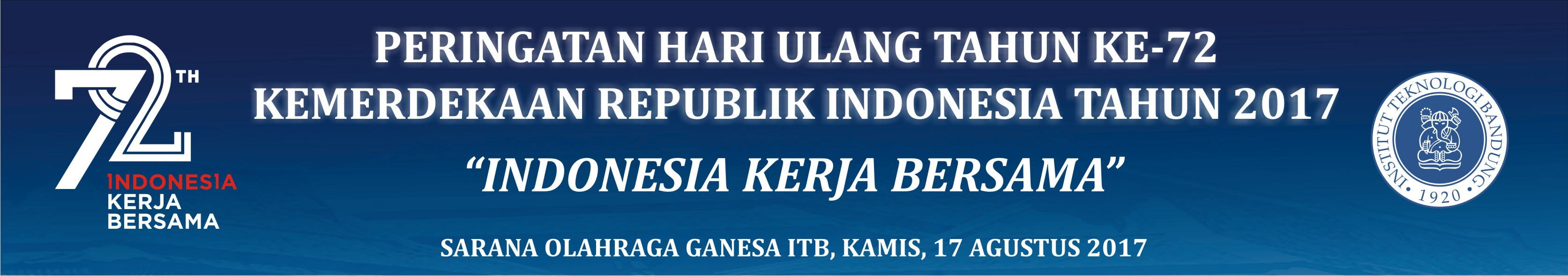 HUT ke-72 Republik Indonesia