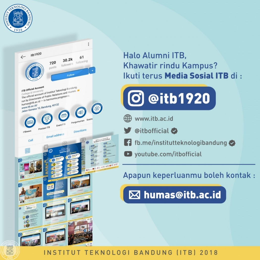 Halo Alumni ITB Okt 2018