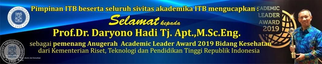 Pemenang Academic Leader Award 2019 Bidang Kesehatan