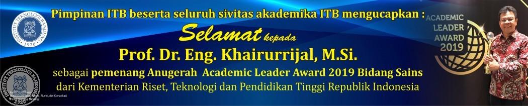 Pememang Academic Leader Award 2019 Bidang Sains