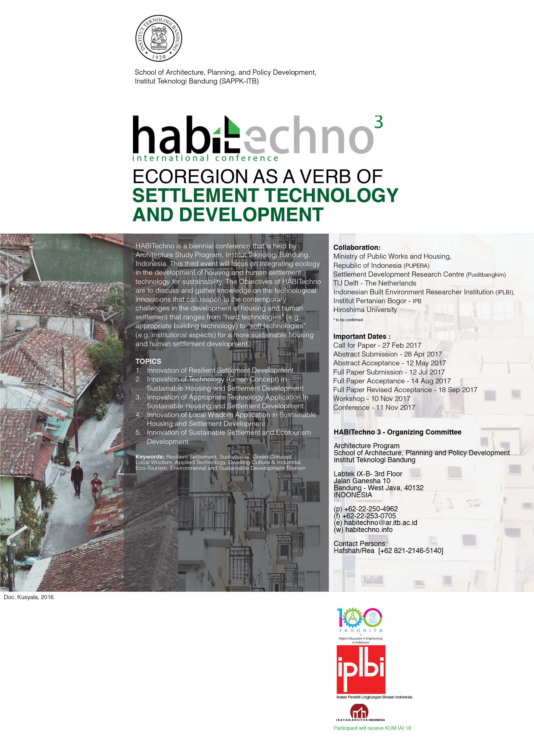 HABITechno: Ecoregion as a Verb of Settlement Technology and Development