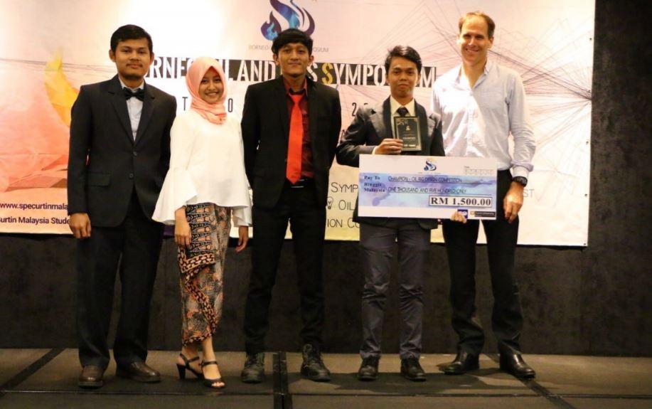 Perwakilan ITB Raih Posisi Pertama di Kompetisi Desain Oil Rig Internasional