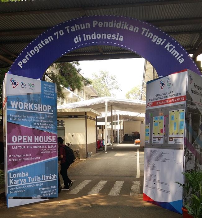 ITB Peringati 70 Tahun Pendidikan Tinggi Kimia di Indonesia