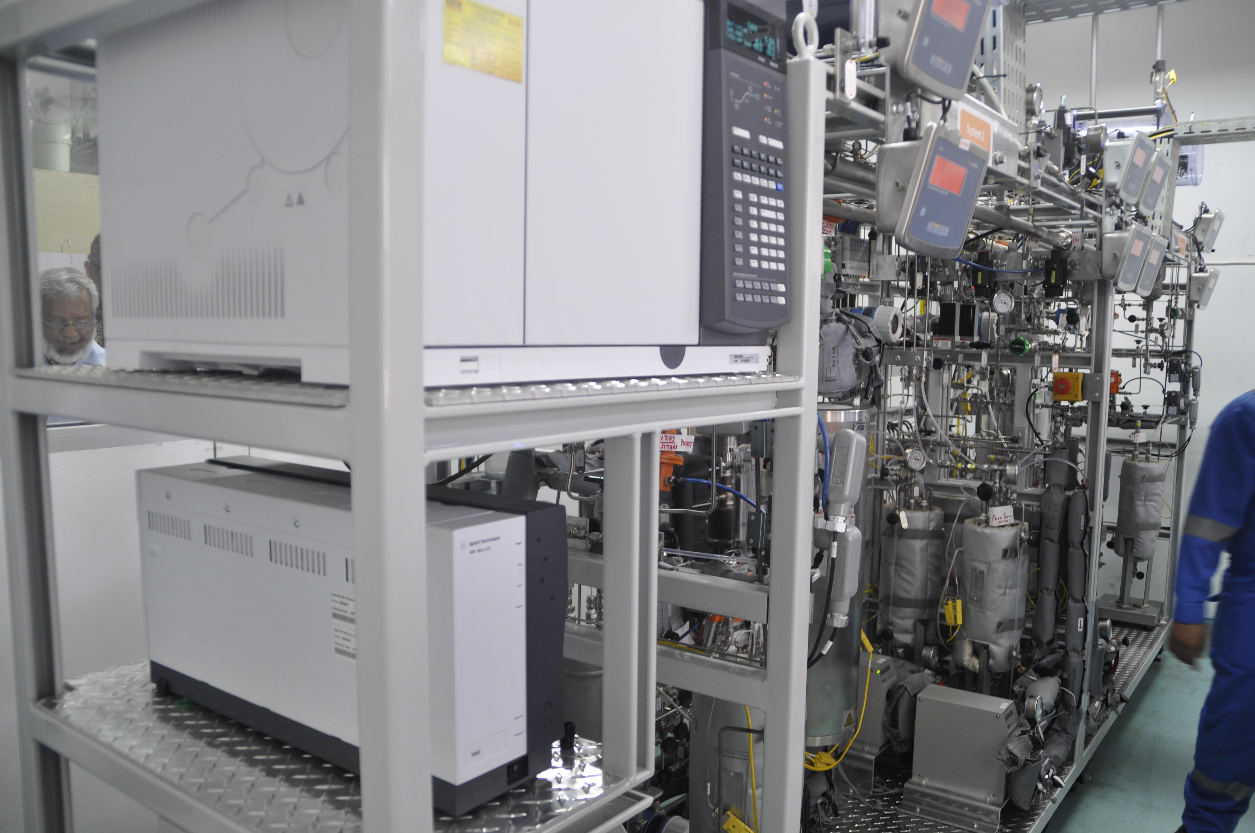 Percepatan Pengembangan Katalis dengan Penempatan Multipurpose Microreactor oleh Pertamina untuk ITB