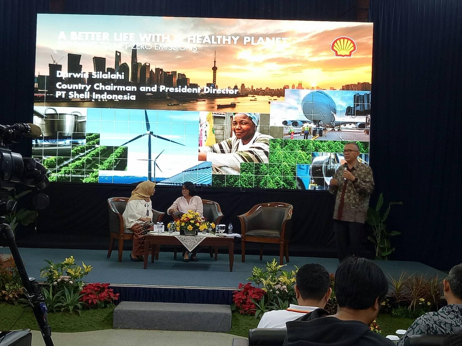 Presiden Shell Indonesia : Menuju Dunia Bebas Emisi Karbon