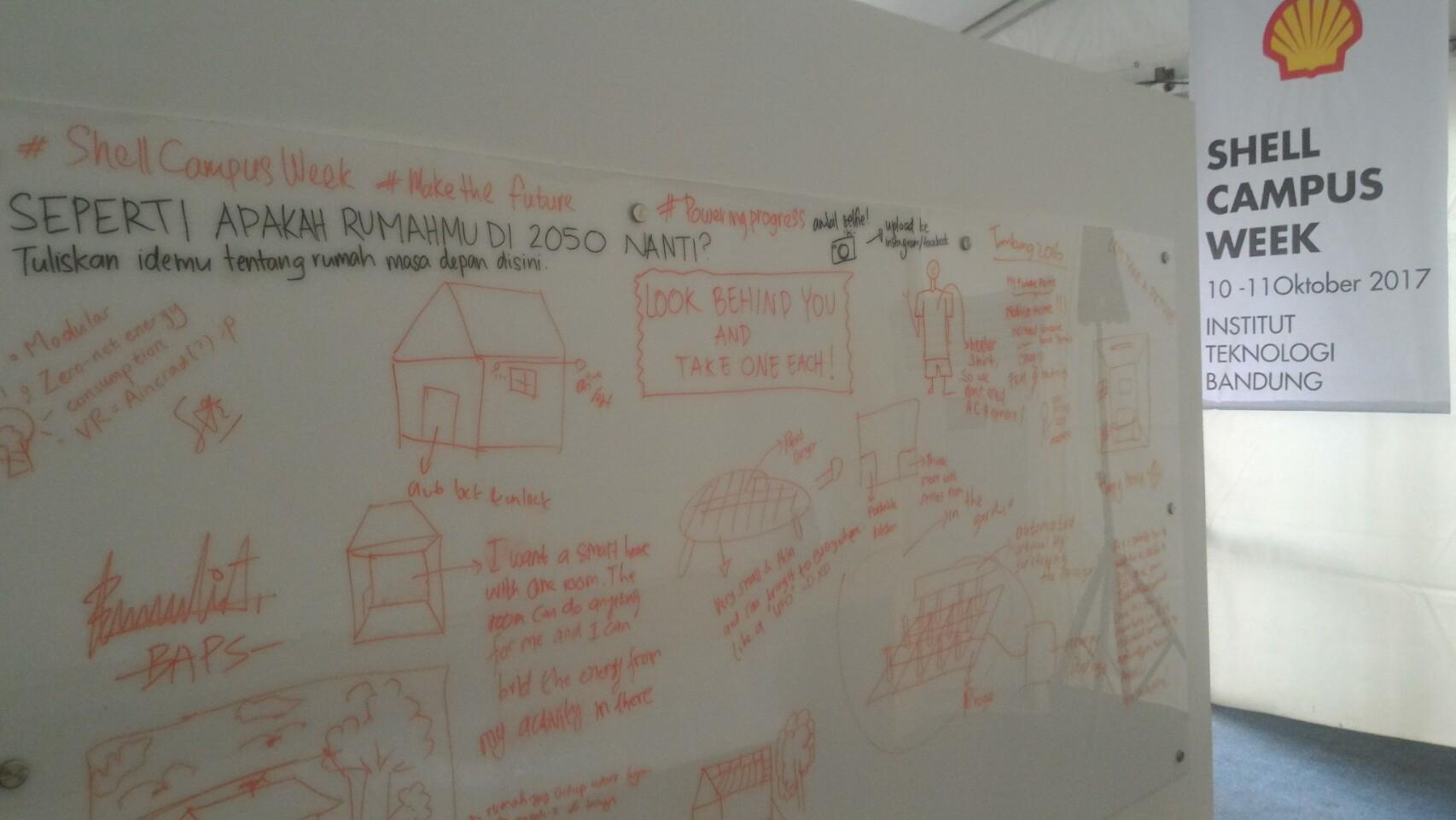 Shell Campus Week : Ajak Mahasiswa ITB Tangkis Tantangan Energi Masa Depan