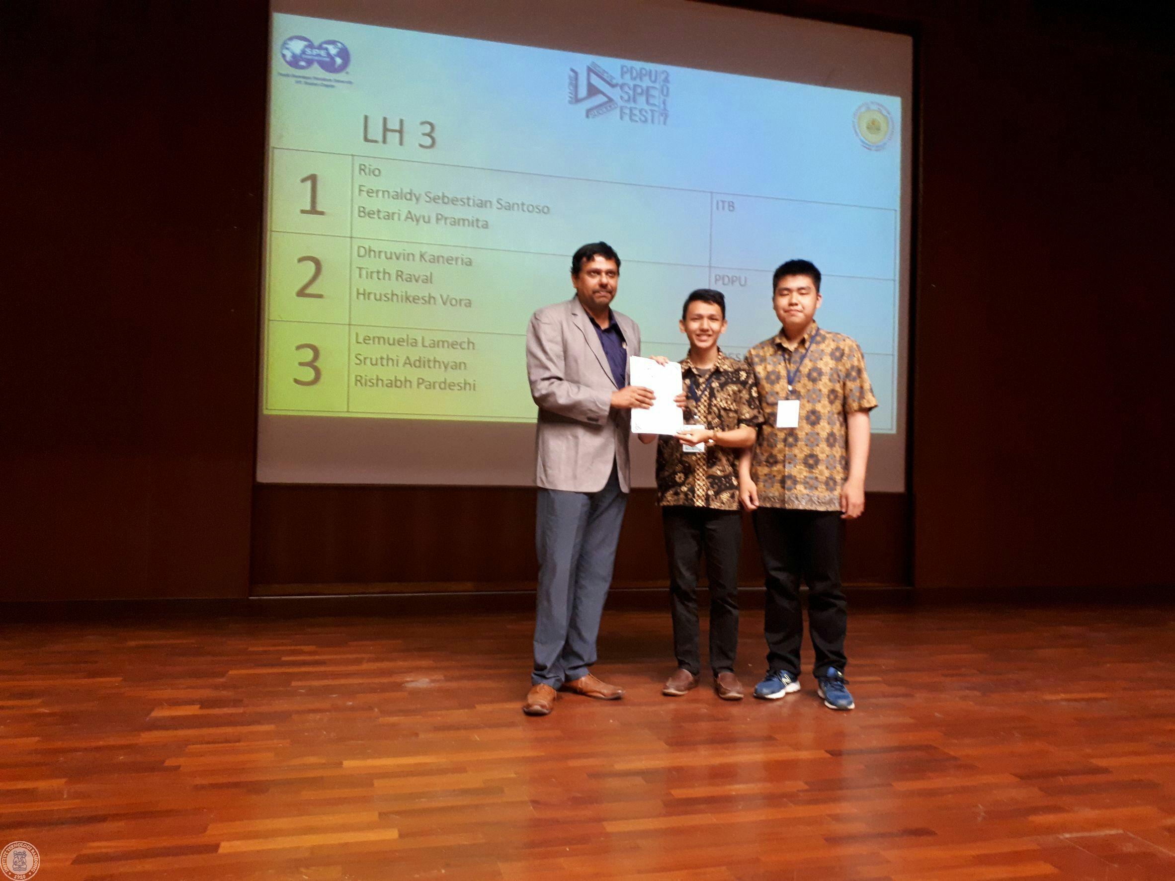 Mahasiswa Teknik Geologi ITB Juarai Perlombaan Tingkat Asia