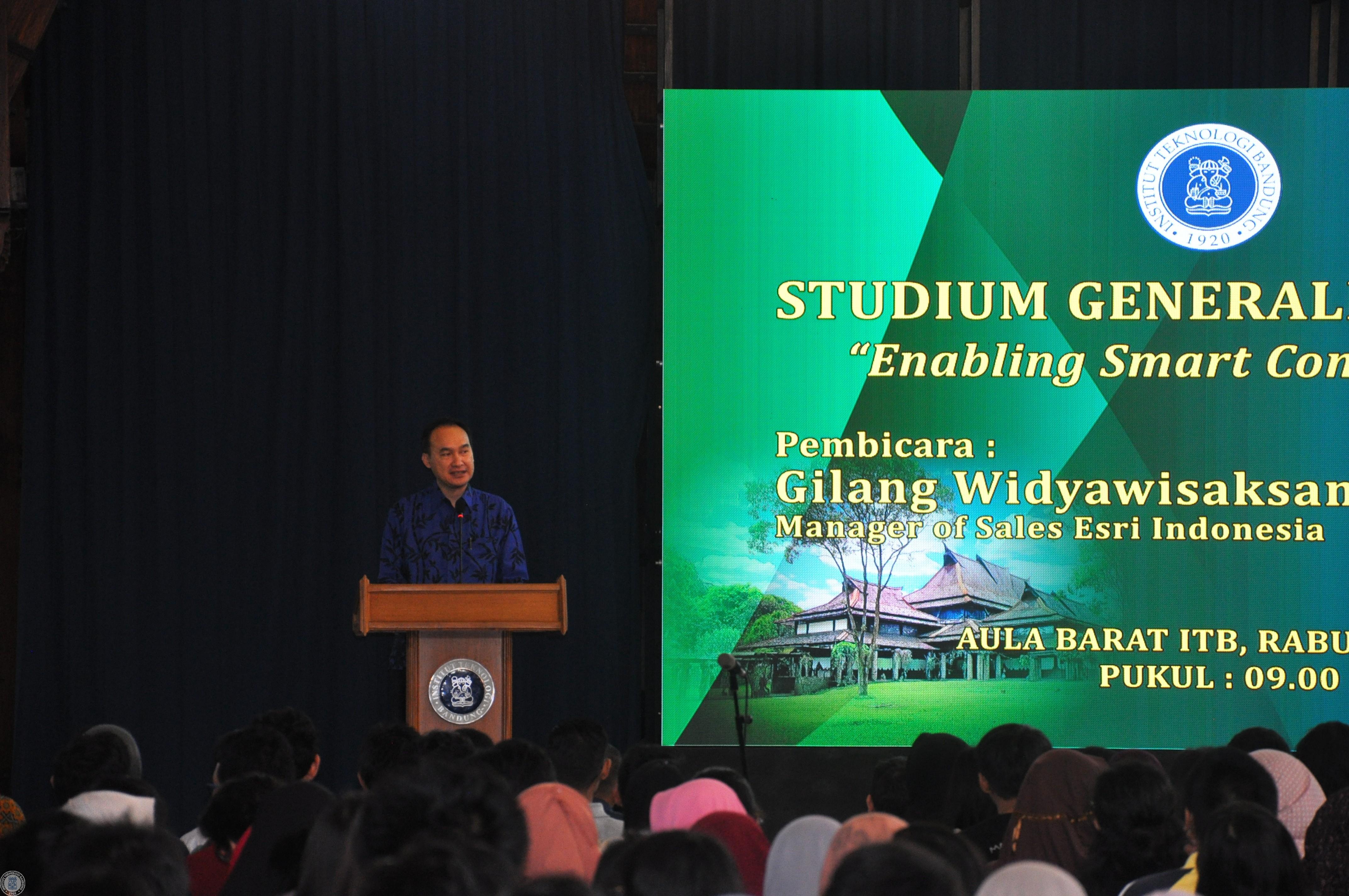 ITB Terima Grant Lisensi ArcGIS dari ESRI Indonesia