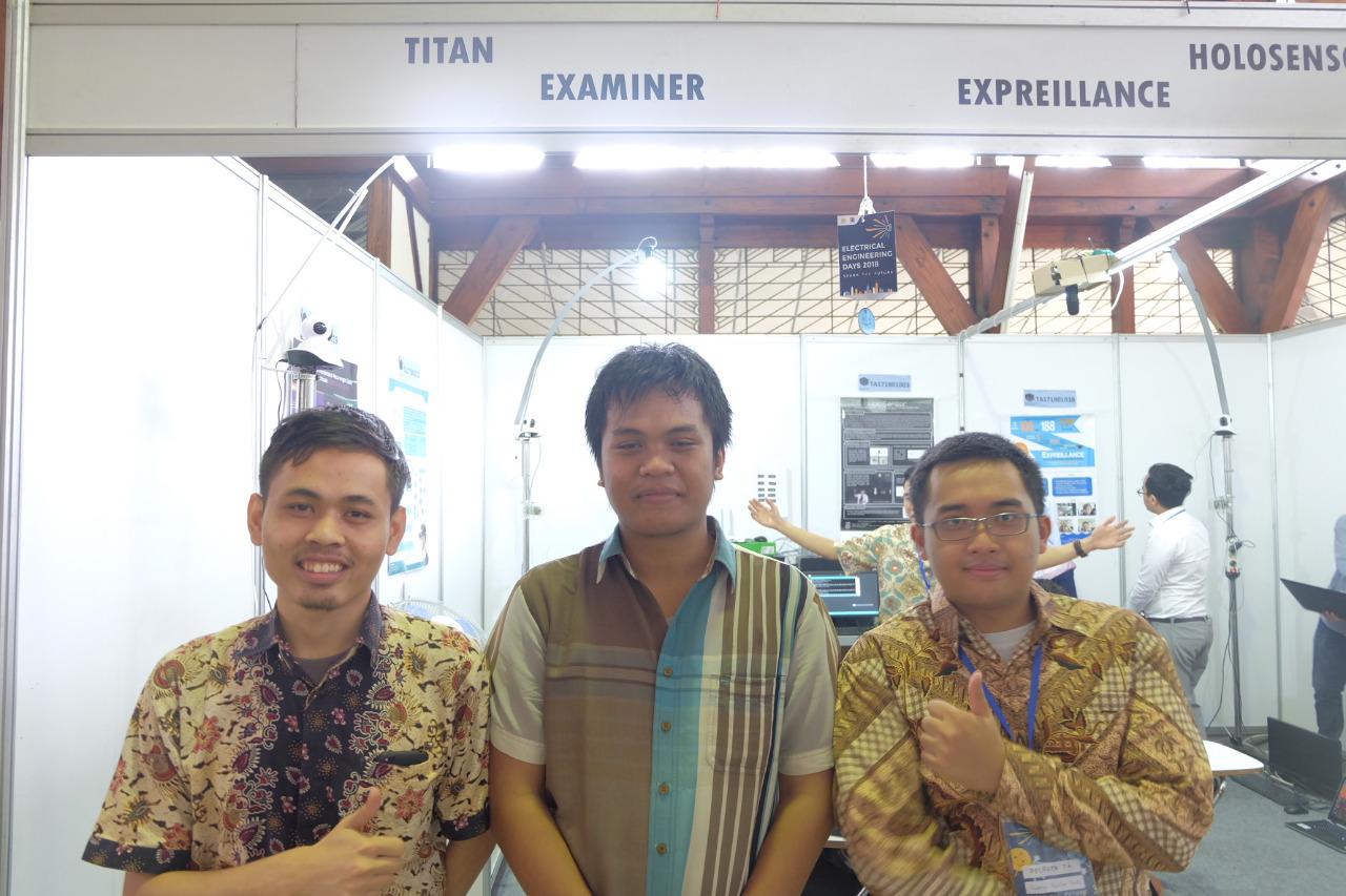 Tiga mahasiswa ITB yang menciptakan EXAMINER. Foto: itb.ac.id