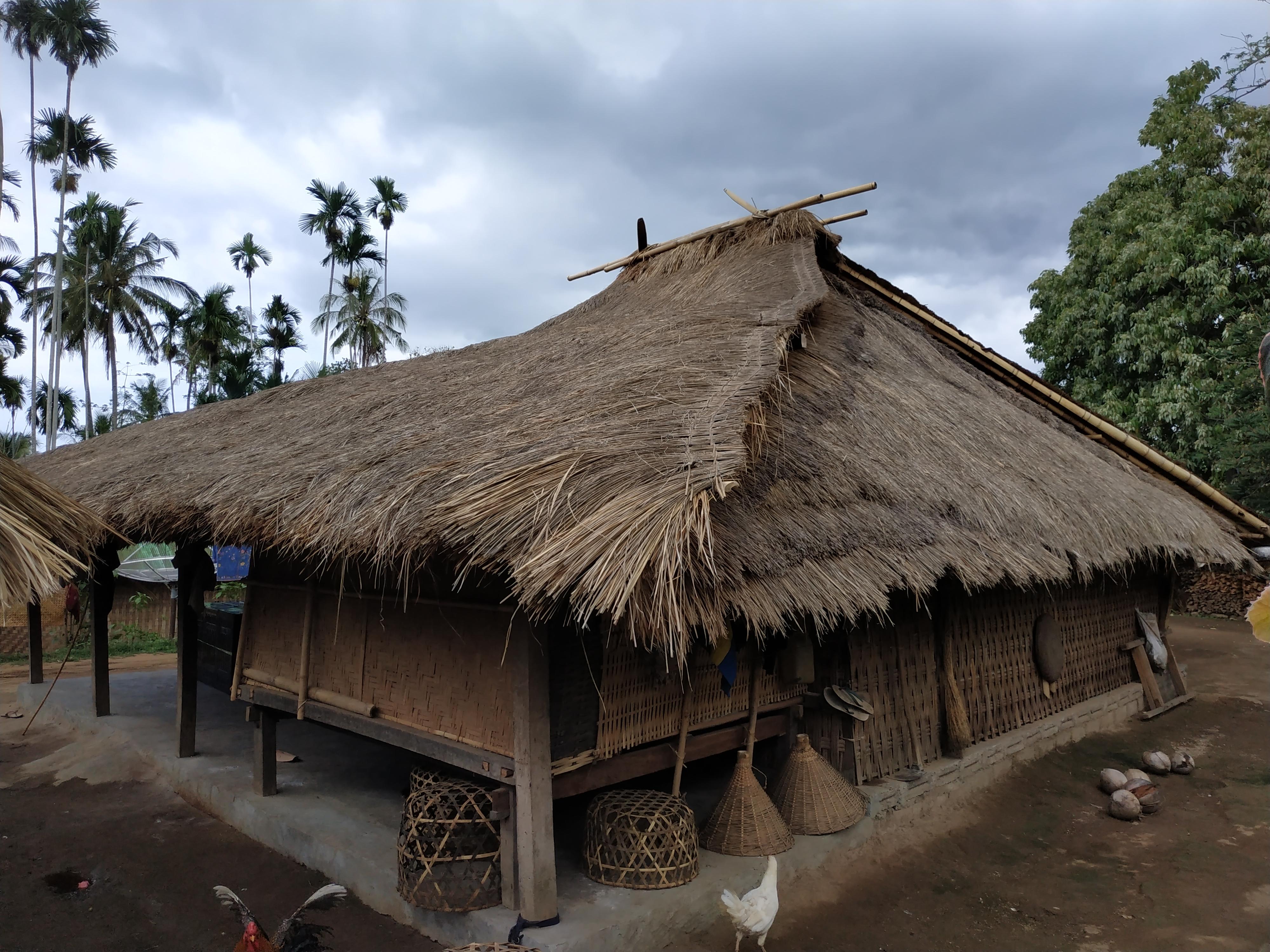 Rumah Adat Sasak Jadi Referensi Itb Mendesain Rumah Tahan Gempa