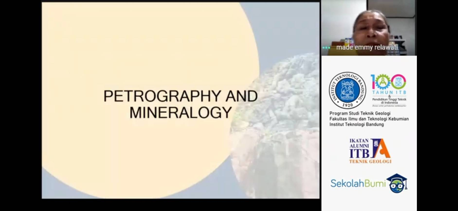 ITB Geology: