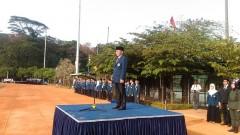 Sejumlah Pegawai ITB menerima Penghargaan Karya Satya Lancana dalam Upacara Peringatan Kemerdekaan RI ke-73 di Saraga