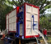 ITB Kirim Alat Instalasi Pengolahan Air Mobile Berkapasitas 18 Ribu Liter/Jam ke Lombok
