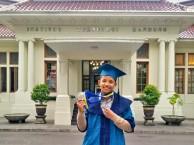 Bienvenu Randriantsalama, Mahasiswa Asing Asal Madagaskar yang lulus pada Oktober 2018