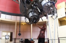 Polusi Cahaya Menjadi Tantangan Pengamatan Bintang di Observatorium Bosscha