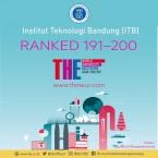 ITB Masuk 200 Besar Ranking Perguruan Tinggi se-Asia Pasifik