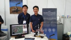 Mahasiswa ITB Ciptakan Robograss Pembasmi Rumput Liar Otomatis