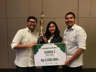 Kembangkan Masker Berbahan Dasar Limbah, Tim ITB Juara Innovative Material Engineering Competition 2019