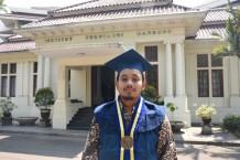 M Rizki Fadillah, Peraih IPK 4.00 Pada Wisuda Oktober 2019