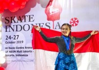 Borong 4 Medali Emas, Vanessa Susanto Juara Skate Indonesia 2019
