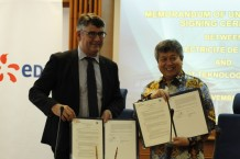 Kerjasama di Bidang Energi Terbarukan, ITB dan Electricite de France Jalin Kesepahaman Bersama