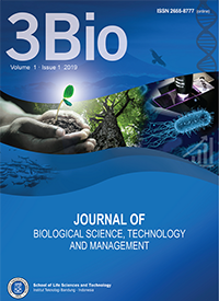 3BIO: Journal of Biological Science, Technology and Management