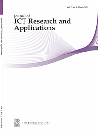 Journal of ICT Research and Applications