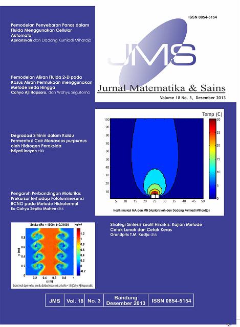 JMS - Jurnal Matematika dan Sains