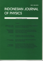 Indonesian Journal of Physics
